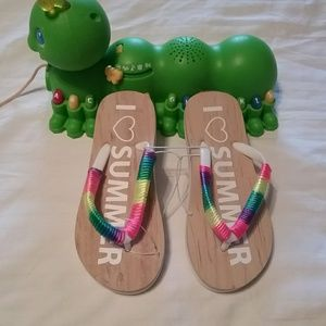 Other - Brand new youth girls flip flops size11/12